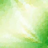 Abstract Green Geometrical Background Stock Image
