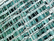 Abstract green glass Stock Photo