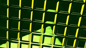Abstract green glass background 3d rendering. Abstract green glass futuristic background 3d rendering computer simulation vector illustration