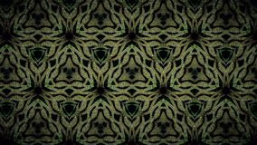 Abstract green gold and black color pattern wallpaper Royalty Free Stock Photos