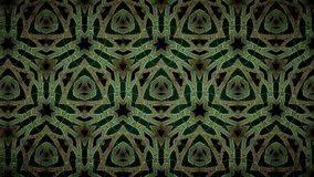 Abstract green gold and black color pattern wallpaper Royalty Free Stock Images