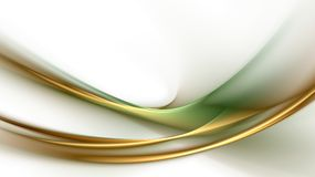 Abstract green-golden background Royalty Free Stock Images