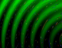 Abstract green gradient pattern Royalty Free Stock Images