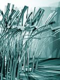 Abstract green grass Stock Photography