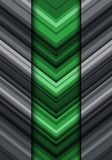 Abstract green gray arrow line pattern direction design modern futuristic backgrond vector. Illuatration Stock Photo