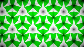 Abstract Green greenery  mirage bokeh pattern background. Royalty Free Stock Photos