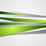 Abstract green grey corporate vector design Royalty Free Stock Photography