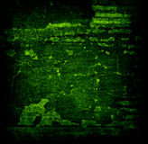 Abstract Green Grunge Background Stock Image