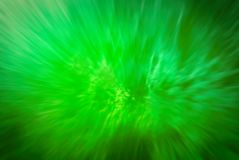 Abstract green grunge explosion. Royalty Free Stock Photos