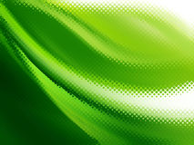 Abstract green halftone background Royalty Free Stock Images