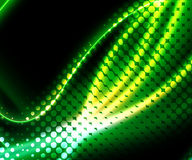 Abstract Green Halftone Background Stock Photography