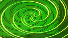 Abstract green background 3D rendering. Abstract green highlights, 3D computer rendering a brilliant generation of glass surface royalty free illustration