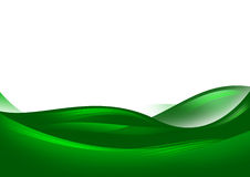 Abstract green hills Royalty Free Stock Photos