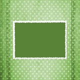 Abstract green jeans background Royalty Free Stock Photography