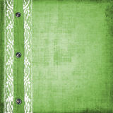 Abstract green jeans background with rivet Royalty Free Stock Images