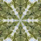 Abstract kaleidoscope royalty free stock photo