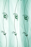 Abstract green lace Stock Images