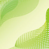 Abstract green leaf background stock illustration
