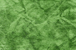 Abstract green leather texture. Stock Photography