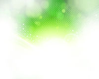 Abstract green and light background. Royalty Free Stock Photos
