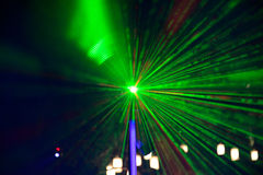 Abstract green light Stock Image