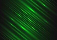 Abstract green light speed power technology energy on black futuristic background vector royalty free illustration
