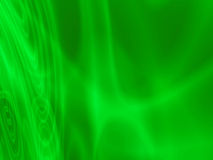 Abstract green light waves Royalty Free Stock Photo