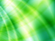 Abstract green light waves Stock Image