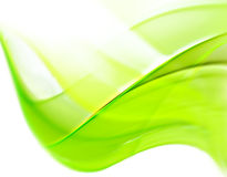 Abstract Green Line Stock Photo