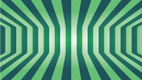 Abstract Green line curve room art background Royalty Free Stock Photography