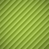 Abstract green lined embossed shadow background  Royalty Free Stock Photography