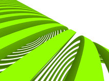 Abstract green lines Stock Photography
