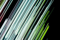 Abstract green lines Royalty Free Stock Photos