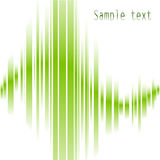 Abstract green lines Royalty Free Stock Photo