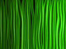 Abstract Green Lines Background Stock Image