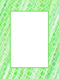 Abstract green lines frame Stock Photography