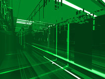 Abstract green matrix  background Stock Photography