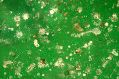 Abstract green metal surface with white patches Royalty Free Stock Image