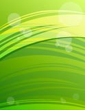 Abstract green modern background Stock Photography