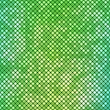Abstract green mosaic background Royalty Free Stock Image