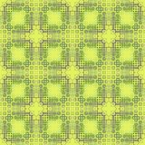 Abstract green mosaic pattern. Tile texture background. Seamless illustration. Royalty Free Stock Images