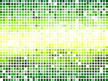 Abstract green mosaic wallpaper Royalty Free Stock Images