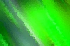 Abstract green motion blur with crystallize effect, use as the background of an element. Stock Image