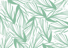 Abstract green natural leaves wallpaper and background; pattern vintage art design Royalty Free Stock Images
