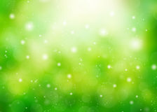 Abstract green nature background Stock Image