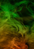 Abstract green-orange background Stock Photography