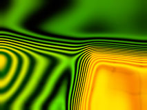 Abstract green, orange  and yellow background 2 Royalty Free Stock Photo