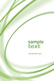 Abstract green oval Royalty Free Stock Photos