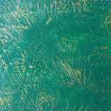 Abstract green paint texture Royalty Free Stock Photo
