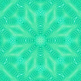 Abstract green pattern Stock Image